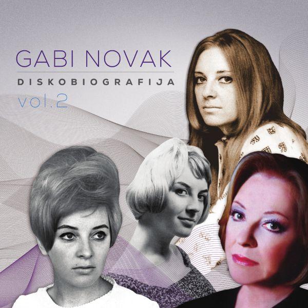 CD: Gabi Novak – Diskobiografija vol. 2 & Diskobiografija vol.1